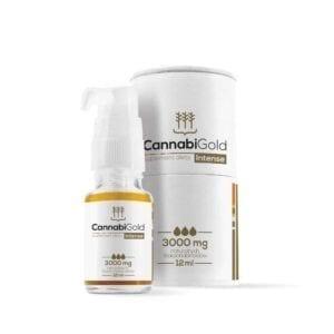 Olejek CBD CannabiGold Intense 30 % – 3000 mg 12 ml