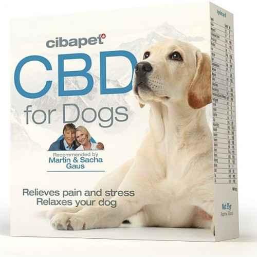 Pastylki CBD dla psów 176 mg 55 szt. Cibapet