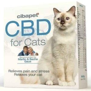 Pastylki CBD dla kotów 130 mg 100 szt. Cibapet