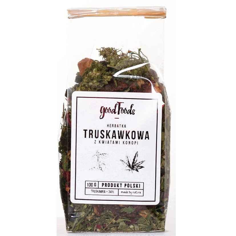 Herbata Konopna Truskawkowa