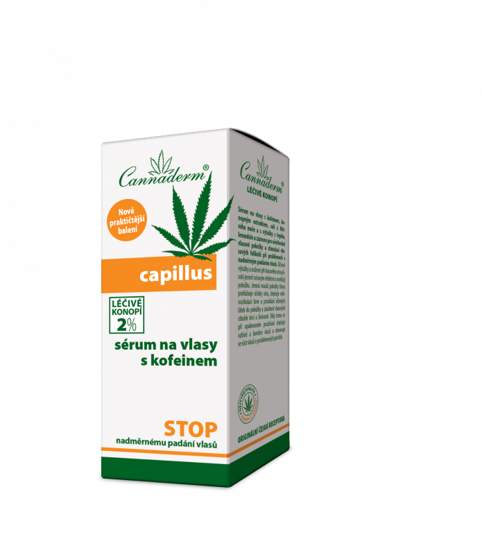 Capillus Serum do włosów z kofeiną Cannaderm