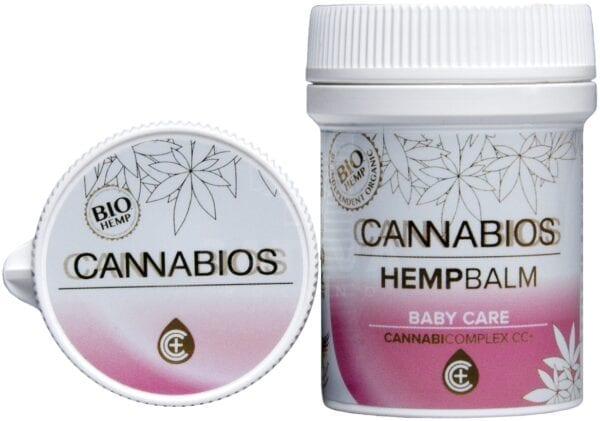 Balsam konopny Cannabios Baby Care 50 ml