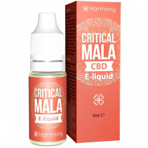 E-liquid Harmony CRITICAL MALA 30mg CBD 10 ml
