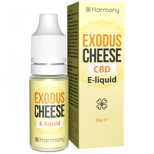 E-liquid Harmony Cheese 100mg CBD 10ml