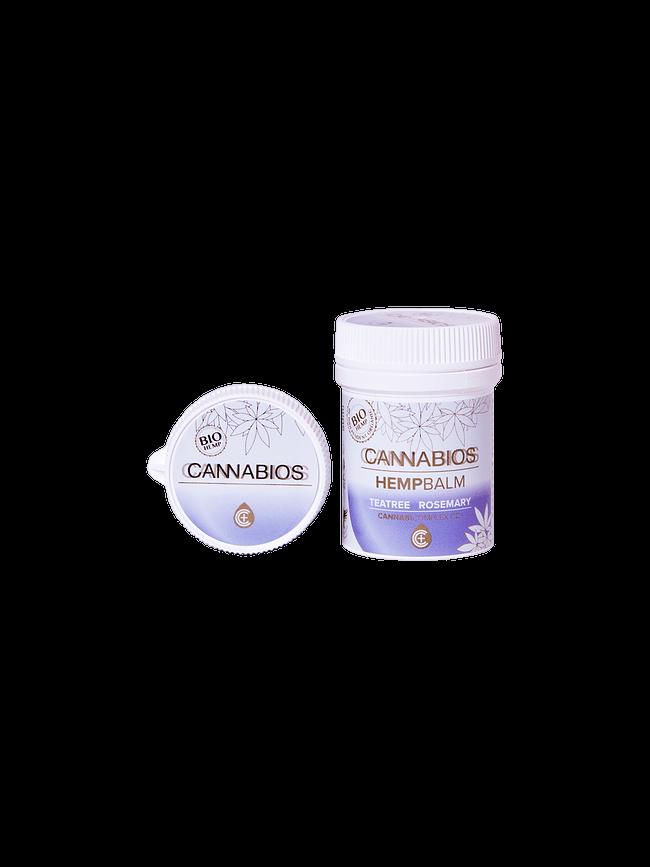 Balsam konopny Cannabios z rozmarynem i drzewem herbacianym 50 ml