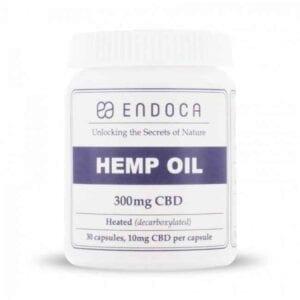 Kapsułki Endoca 3% CBD 300mg