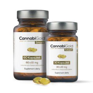 Kapsułki Cannabigold Smart – 60 kaps. (60 x 10 mg CBD)