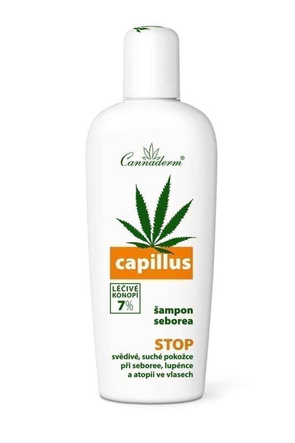 Cannaderm Szampon na problemy łojotokowe Capillus