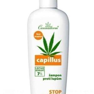 Capillus Szampon przeciwłupieżowy Cannaderm