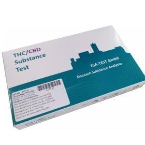 ESA-TEST THC/CBD (9 testów)