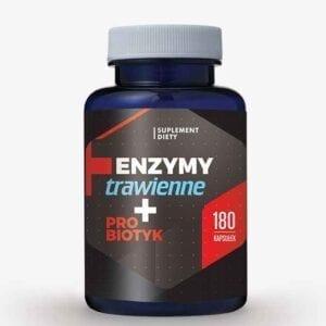 Enzymy trawienne + Probiotyk 180 kaps.