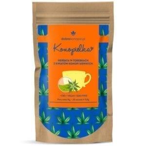 Herbata konopna z całych kwiatostanów Konopielka (Saszetki)