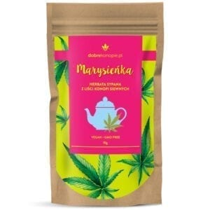Herbata z liści konopi Marysieńka