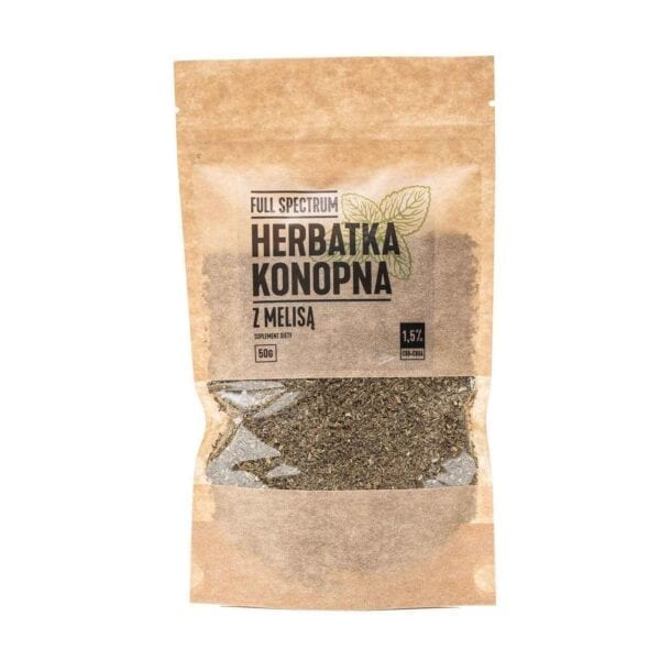 Herbata konopna z Melisą 1,5 % CBD 50g