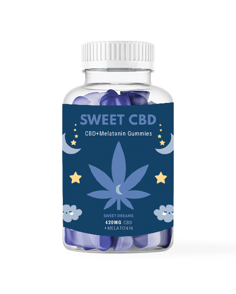 Żelki SWEET DREAMS CBD 420mg z melatoniną