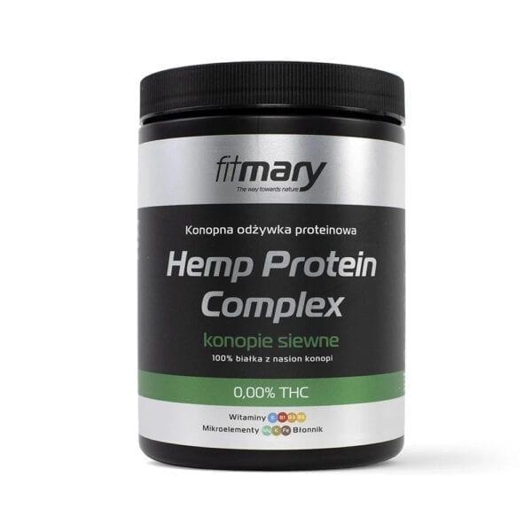 Konopna odżywka białkowa – Białko konopne FitMary